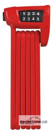 ABUS Bordo Combo Lite 6100/90 zámek Červená barva