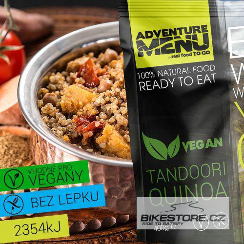 ADVENTURE MENU Tandoori Quinoa Vegan MIN.TRVANLIVOST DO 22.7.2019