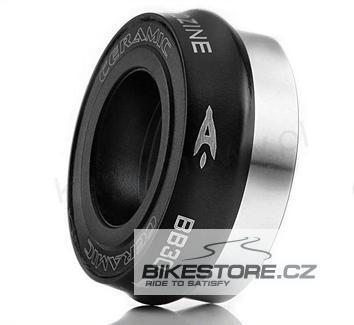 AEROZINE BB30 Road adaptér/osa šlapacího středu (středové složení) Černá barva