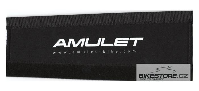 AMULET Neoprenový chránič zadní vidlice Bílá/černá barva