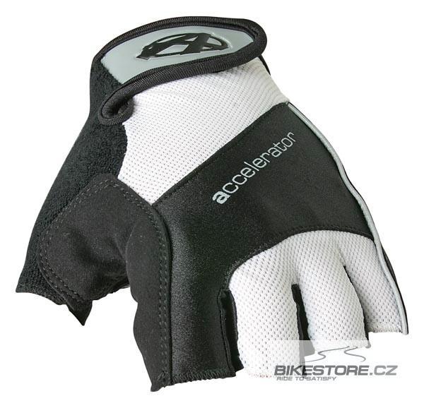 ANSWER Accelerator rukavice  Velikost M, bílá/černá/bílá barva