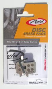 AVID Avid Juicy & BB7 brzdové destičky (1 pár)