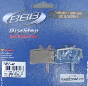 BBB BBS-41 DiscStop brzdové destičky (1 pár)