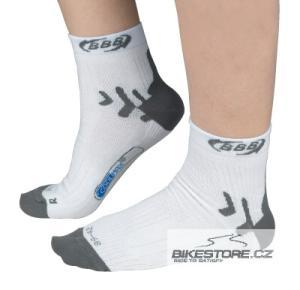 BBB BBW-12 HighFeet White ponožky