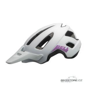 BELL Nomad W Mat White/Purple helma