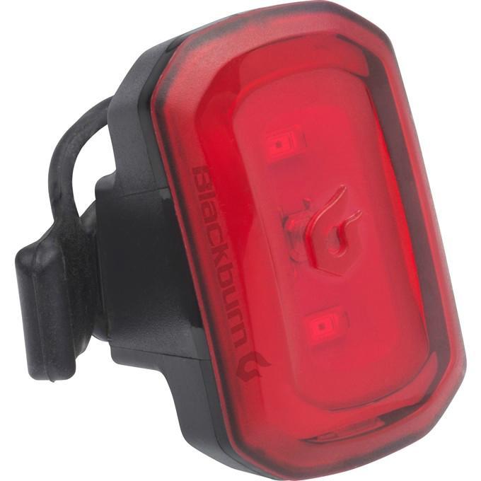 BLACKBURN Click USB black zadní světlo