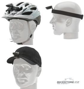 BLACKBURN Flea Helmet Head Mount držák a elastický pás na helmu, čepici a hlavu