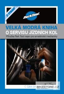 CALVIN JONES Velká modrá kniha o servisu jízdních kol