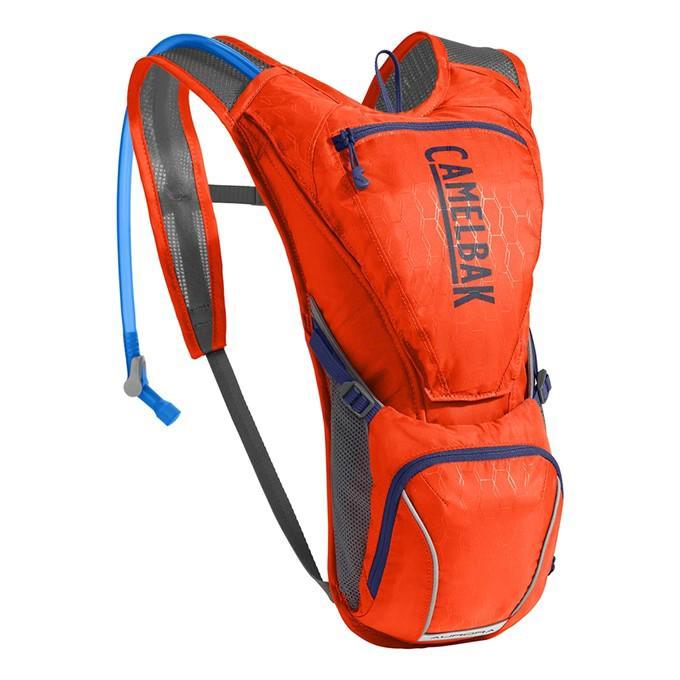 CAMELBAK Aurora dámský batoh s pitným vakem cherry tomato/pitch blue 2,5l