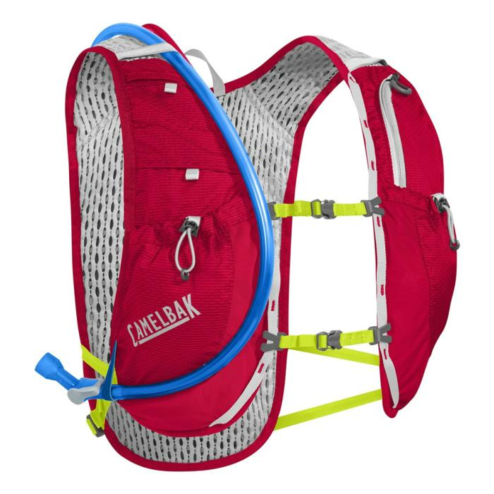 CAMELBAK Circuit Vest vesta s pitným vakem crimson red/lime punch 3,5l