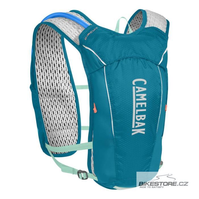 CAMELBAK Circuit Vest vesta s pitným vakem teal/ice green 3,5 l