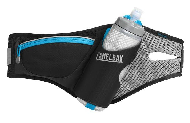 CAMELBAK Delaney ledvinka s lahví black/atomic blue