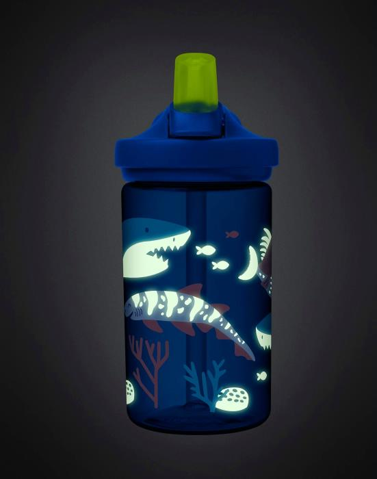 CAMELBAK Eddy+ Kids Bottle dětská láhev Glow In The Dark Shark