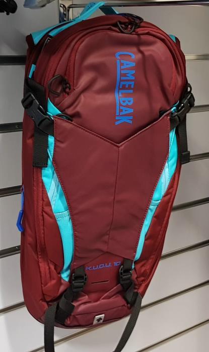 CAMELBAK Kudu Protector 10 batoh s chráničem páteře burgundy/lake blue, M/L
