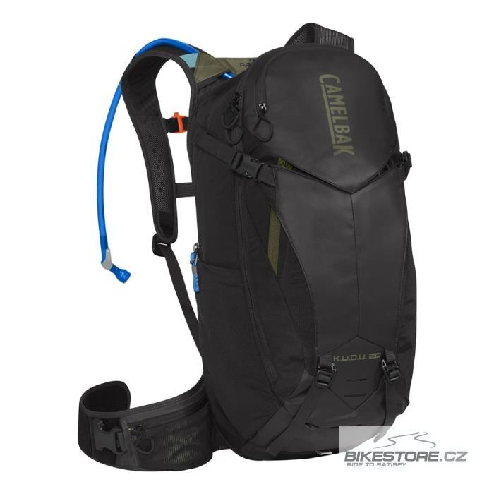 CAMELBAK Kudu Protector 20 batoh s chráničem páteře black/burnt olive, M/L
