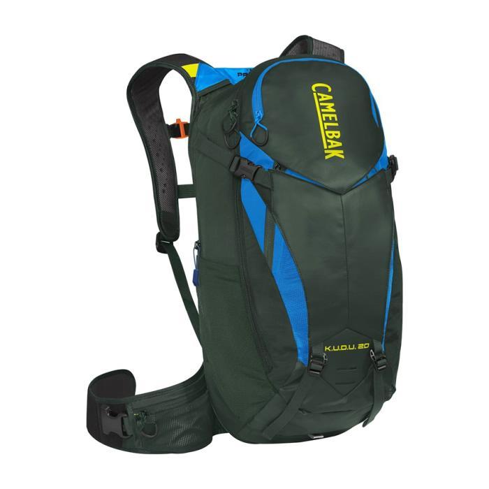 CAMELBAK Kudu Protector 20 batoh s chráničem páteře deep forest/brilliant, M/L