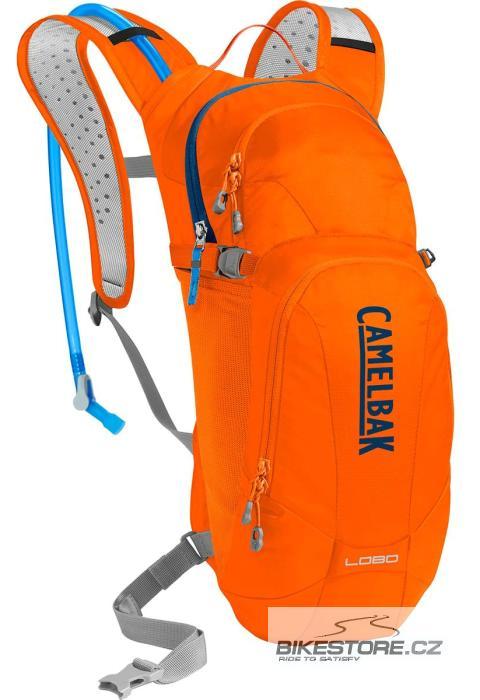 CAMELBAK Lobo batoh s pitným vakem laser orange/pitch blue