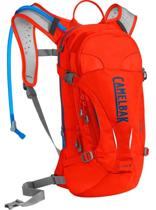 CAMELBAK Luxe dámský batoh s pitným vakem cherry tomato/pitch blue