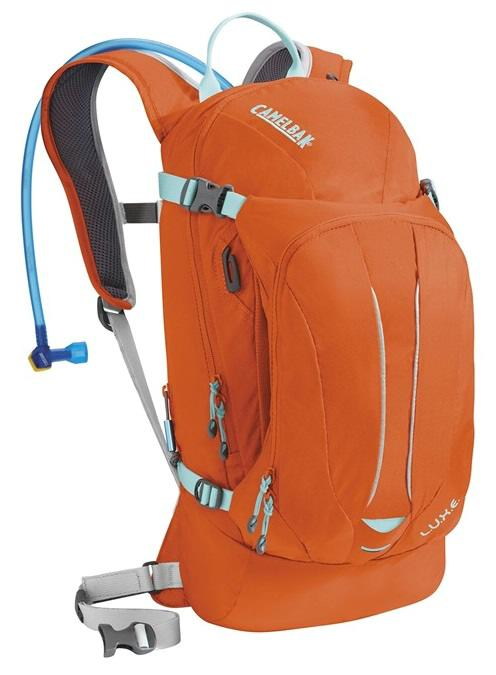 CAMELBAK Luxe dámský batoh s pitným vakem flame/aruba blue