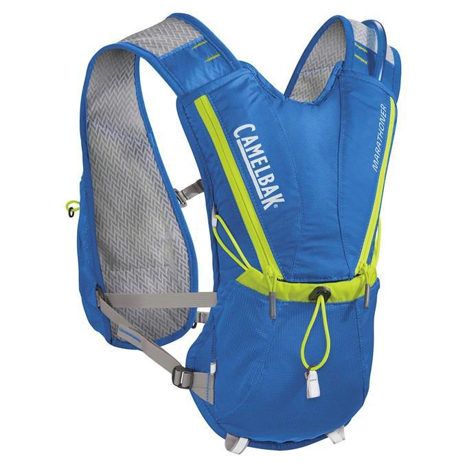 CAMELBAK Marathoner Vest vesta s pitným vakem electric blue/lime punch