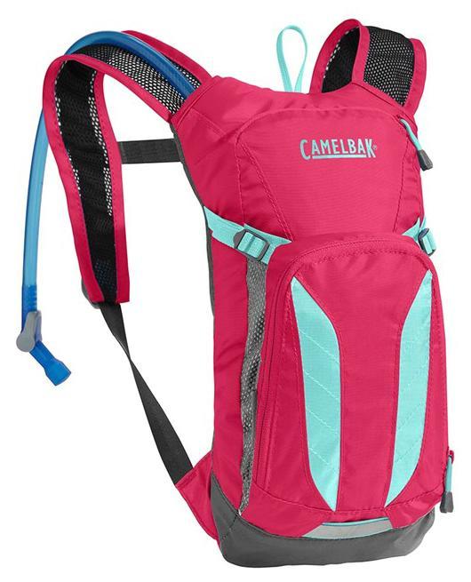 859eea7874b CAMELBAK Mini Mule dětský batoh s pitným vakem azalea aruba blue