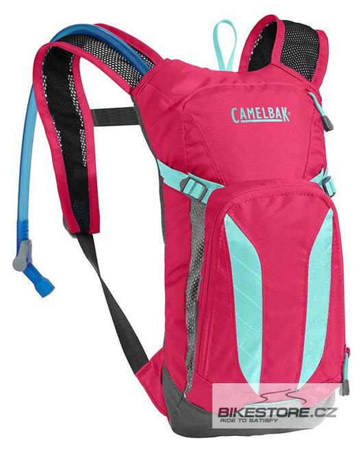 CAMELBAK Mini Mule dětský batoh s pitným vakem azalea/aruba blue