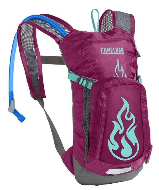 CAMELBAK Mini Mule dětský batoh s pitným vakem baton rouge/flames