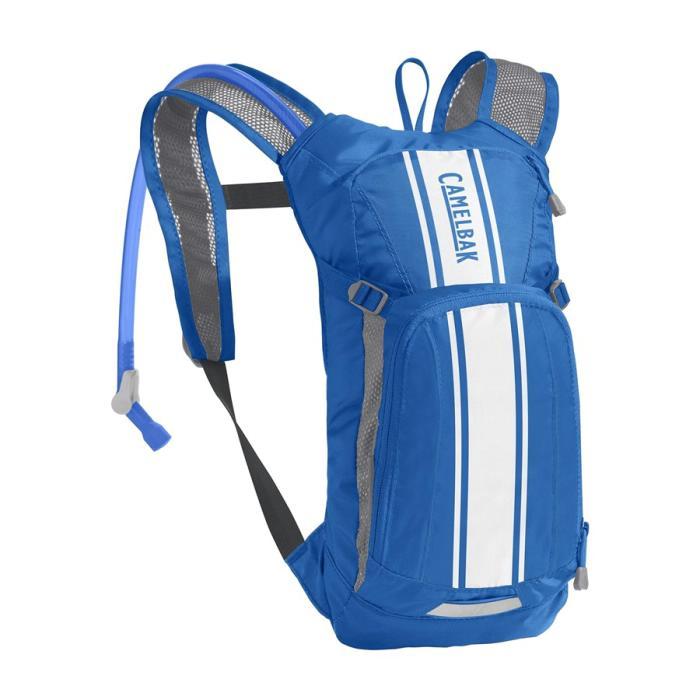 CAMELBAK Mini Mule dětský batoh s pitným vakem lapis blue/white stripe