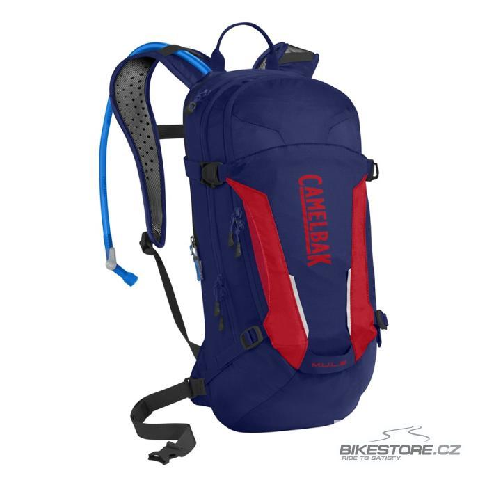 CAMELBAK Mule batoh s pitným vakem pitch blue/racing red 9l