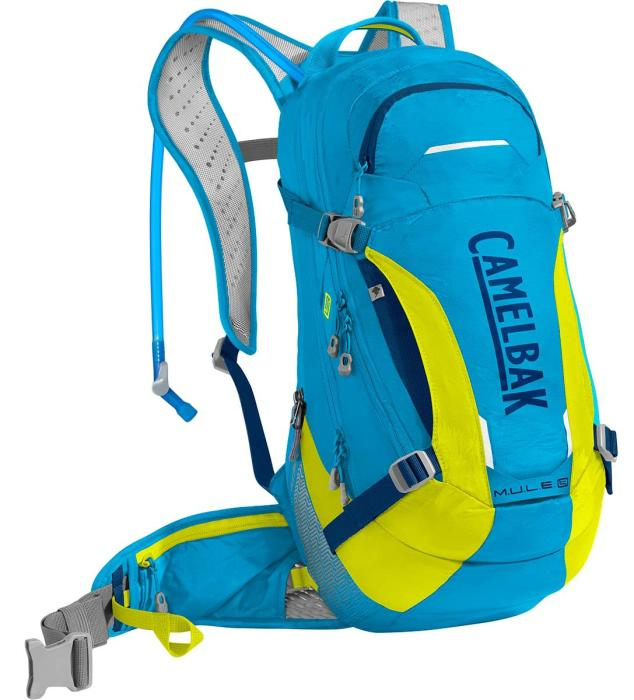 CAMELBAK Mule LR 15 batoh s pitným vakem atomic blue/sulfur springs