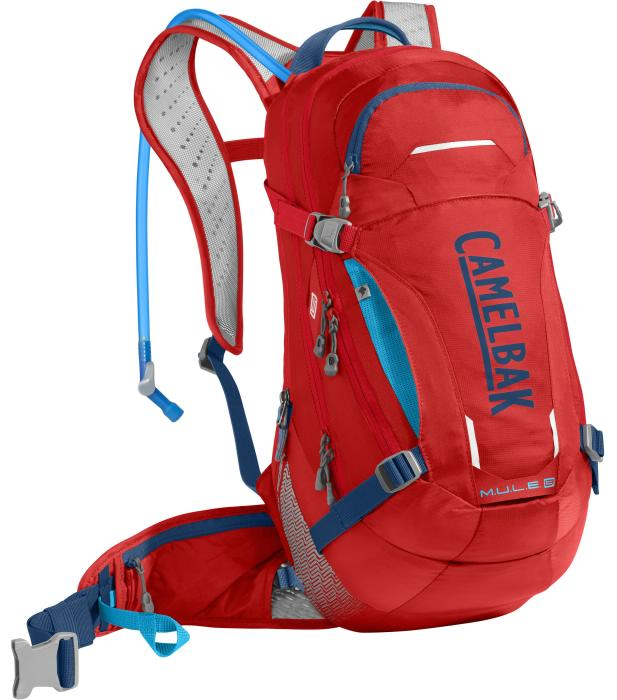 CAMELBAK Mule LR 15 batoh s pitným vakem racing red/pitch blue