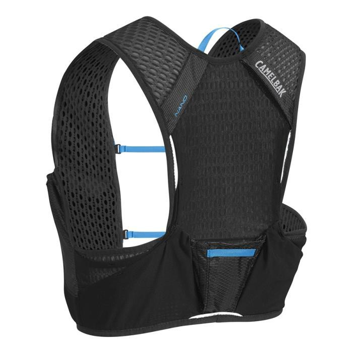 CAMELBAK Nano Vest běžecká vesta s lahvemi black/atomic blue S 2l