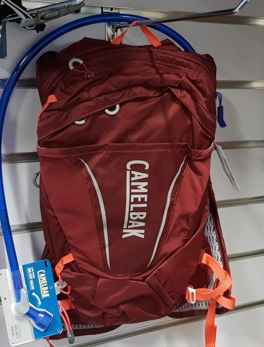 CAMELBAK Octane 9 dámský batoh s pitným vakem burgundy/hot coral