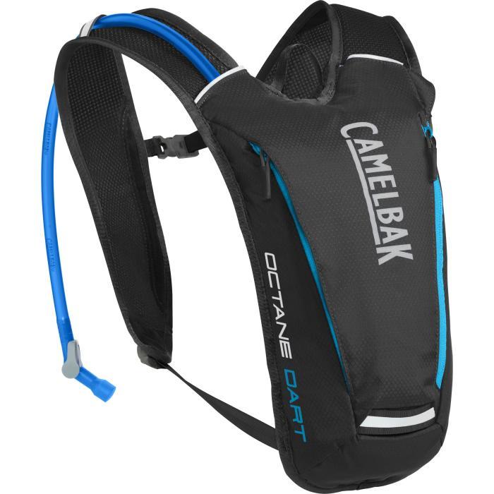 CAMELBAK Octane Dart batoh s pitným vakem black/atomic blue 0,5l