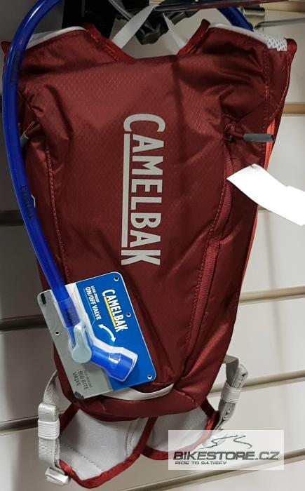 CAMELBAK Octane Dart batoh s pitným vakem burgundy/hot coral 0,5l