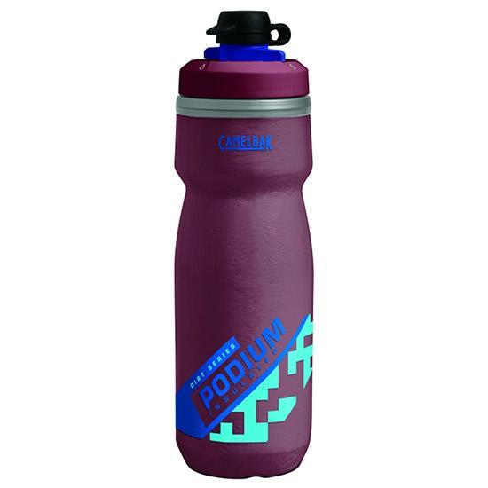 CAMELBAK Podium Chill Dirt 0,62 l láhev   burgundy/blue - POUZE 1 KUS