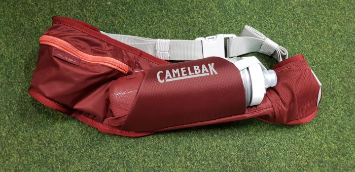 CAMELBAK Podium Flash Belt ledvinka s lahví burgundy/hot coral