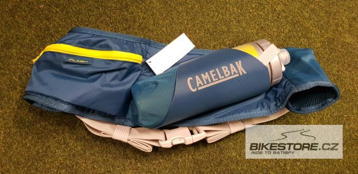 CAMELBAK Podium Flash Belt ledvinka s lahví corsair teal/sulphur spring