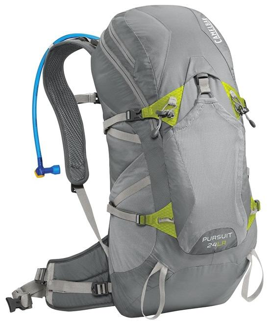 CAMELBAK Pursuit 24 LR batoh s pitným vakem gunmetal/lime punch