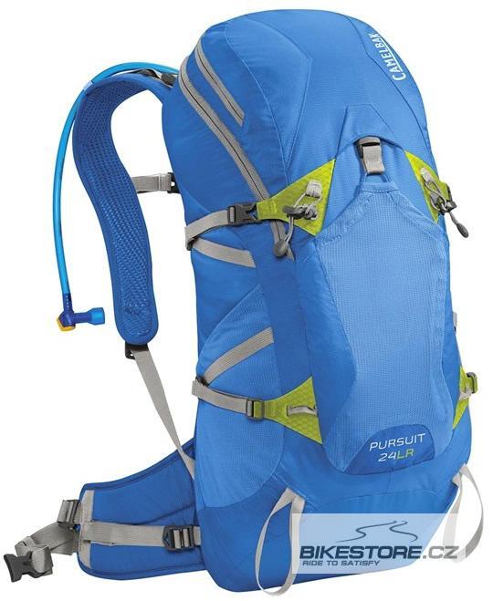 CAMELBAK Pursuit 24 LR batoh s pitným vakem tahoe blue/lime punch
