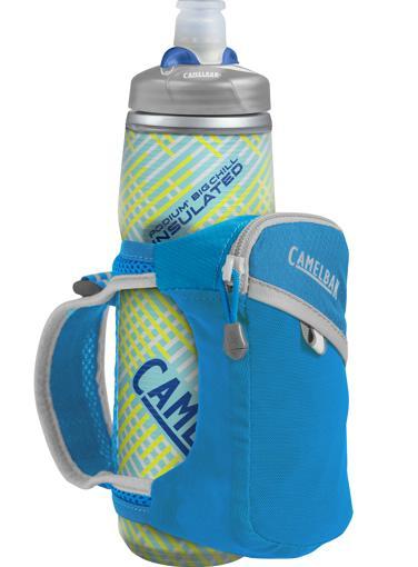 CAMELBAK Quick Grip Chill 0,6 l termoláhev + obal atomic blue/silver