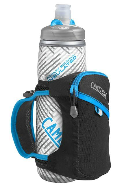 CAMELBAK Quick Grip Chill 0,6 l termoláhev + obal black/atomic blue
