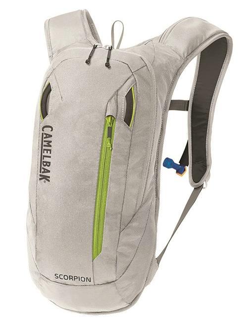 CAMELBAK Scorpion batoh s pitným vakem silver