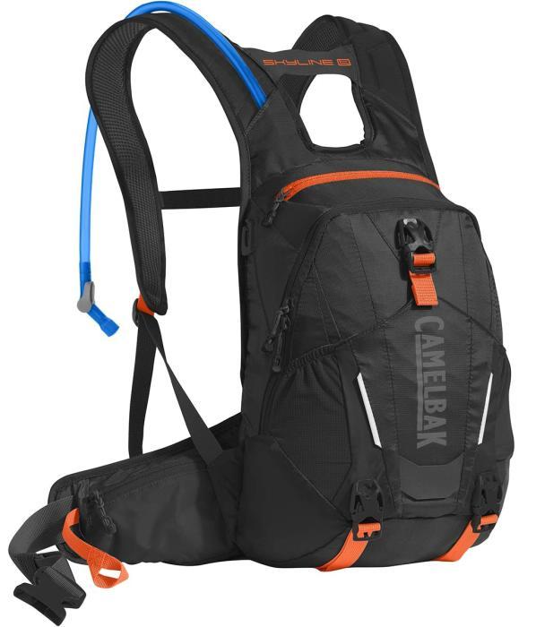 CAMELBAK Skyline LR 10 batoh s pitným vakem black/laser orange