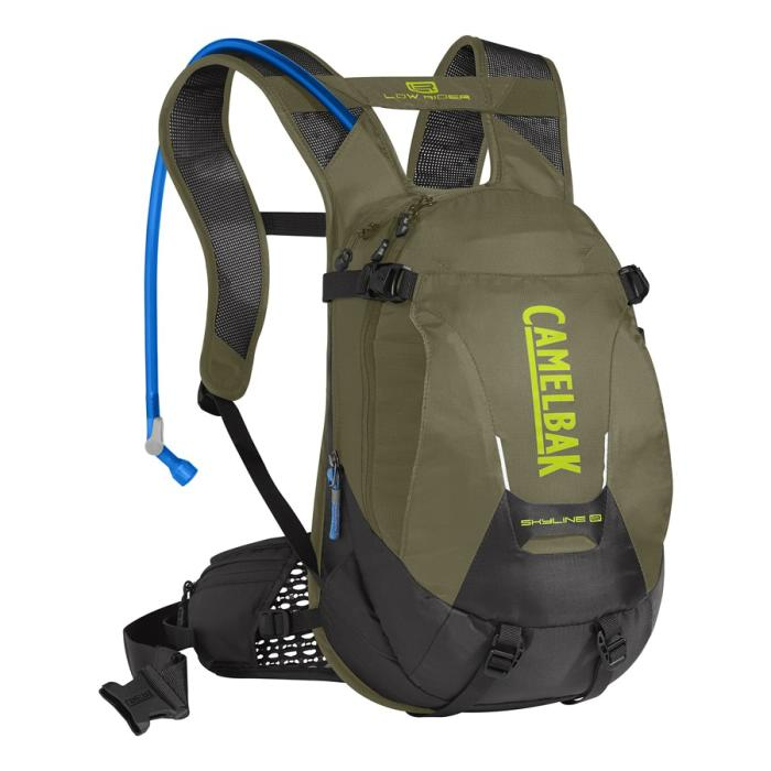 CAMELBAK Skyline LR 10 batoh s pitným vakem burnt olive/lime punch