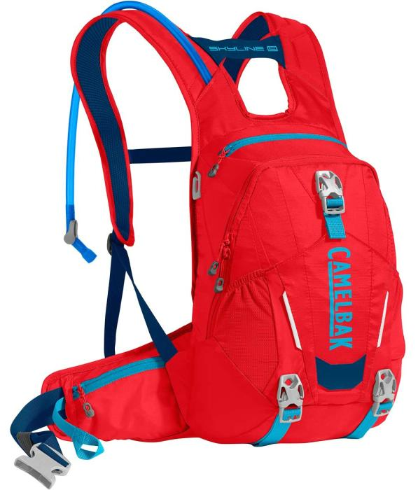 CAMELBAK Skyline LR 10 batoh s pitným vakem racing red/pitch blue