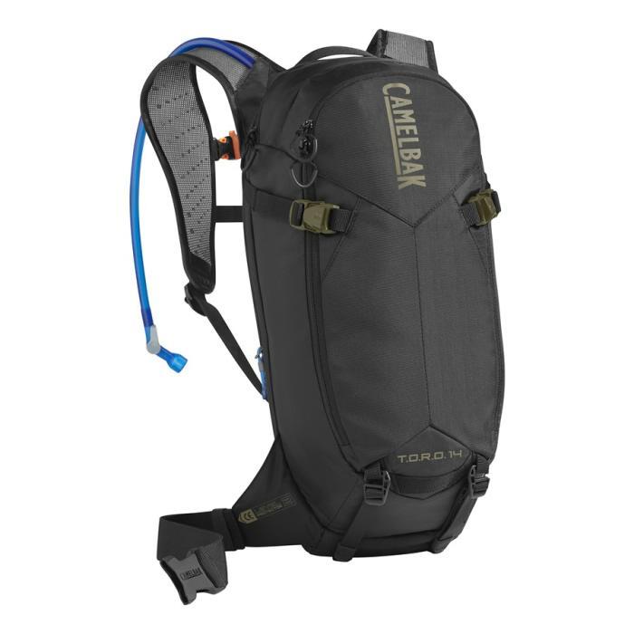 CAMELBAK TORO Protector 14 batoh s chráničem páteře black/burnt olive