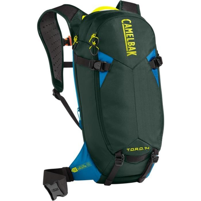 CAMELBAK TORO Protector 14 batoh s chráničem páteře deep forest/brilliant blue