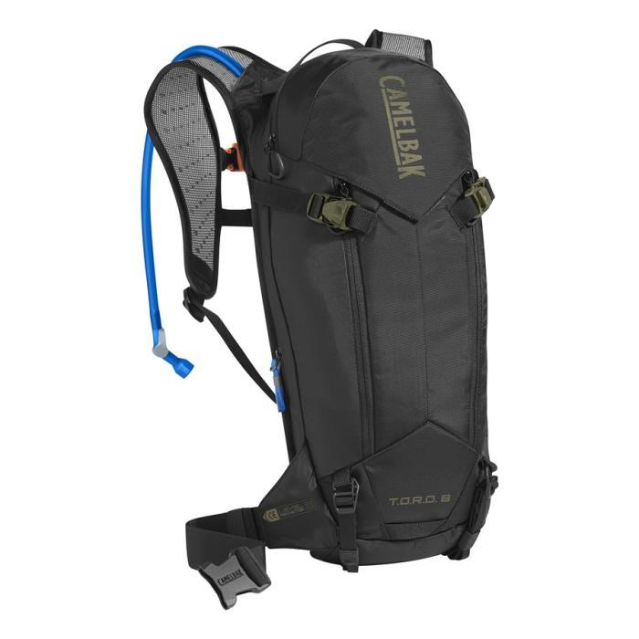 CAMELBAK TORO Protector 8 batoh s chráničem páteře black/burnt olive