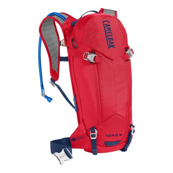 CAMELBAK TORO Protector 8 batoh s chráničem páteře racing red/pitch blue
